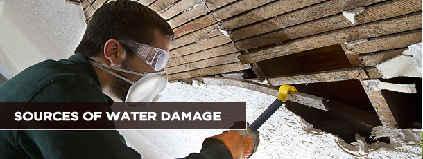 Sources of Water Damage