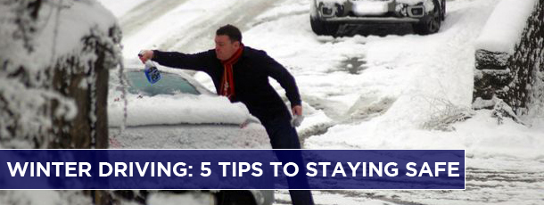 Winter Driving: 5 Tips to Staying Safe