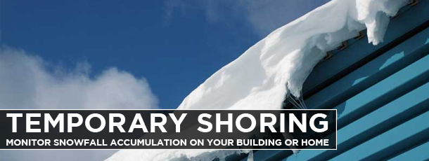 Temporary Shoring Monitor Snowfall Accumulation on Your ...