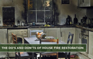 The Do's and Don'ts of House Fire Restoration