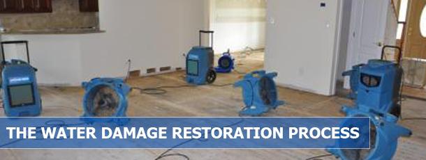 The Water Damage Restoration Process