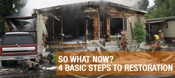 So What Now? - 4 Basic Steps to Restoration
