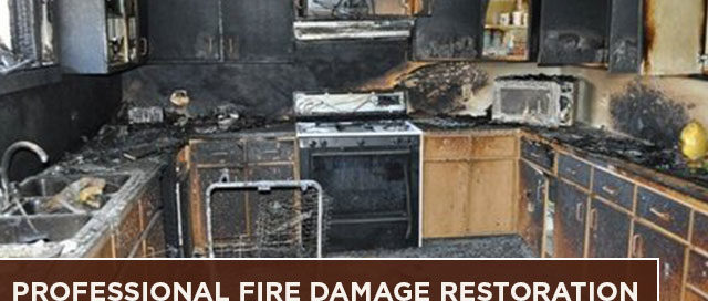 Professional Fire Damage Restoration