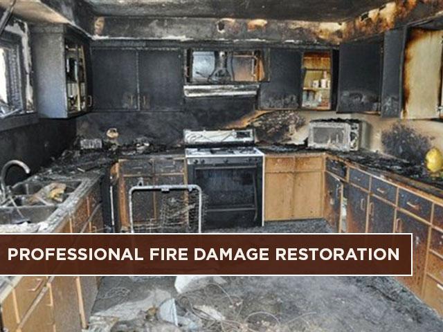 Professional Fire Damage Restoration