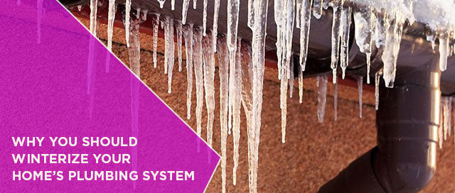 Why You Should Winterize Your Home's Plumbing System