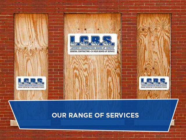 Our Range of Services