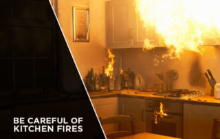 Be Careful of Kitchen Fires