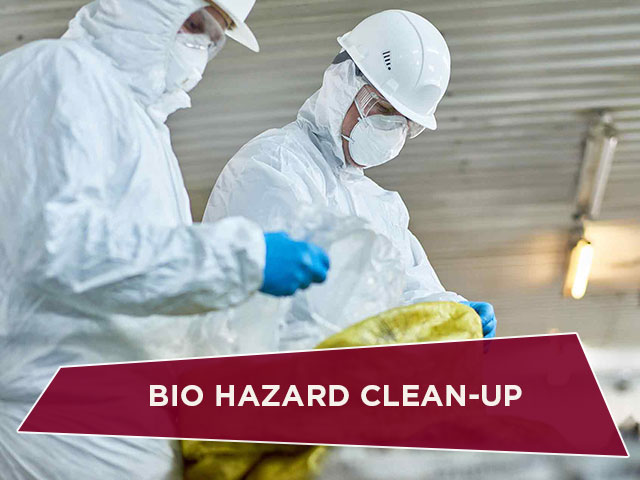 Bio Hazard Clean-Up