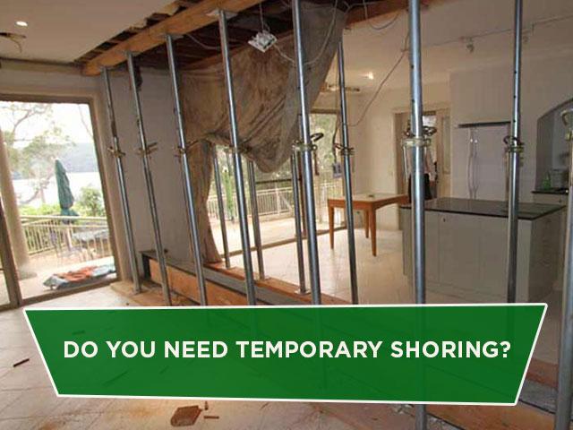 Do You Need Temporary Shoring?