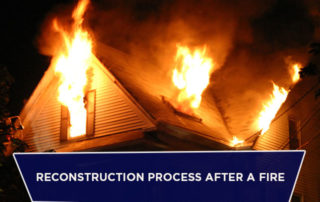 Reconstruction Process After a Fire