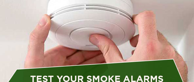 Test Your Smoke Alarms