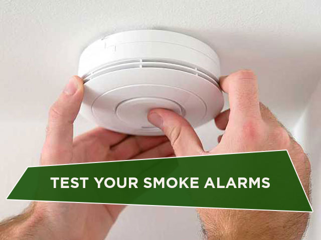 Test Your Smoke Alarms