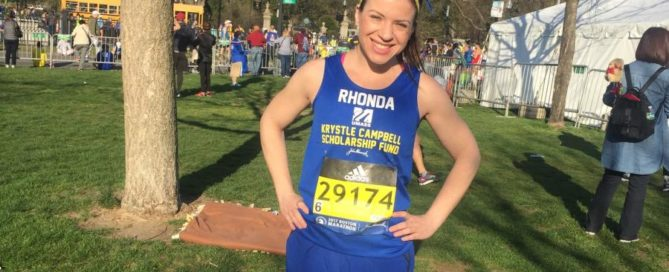 Running Boston Marathon in Honor of Medford's Krystle Campbell