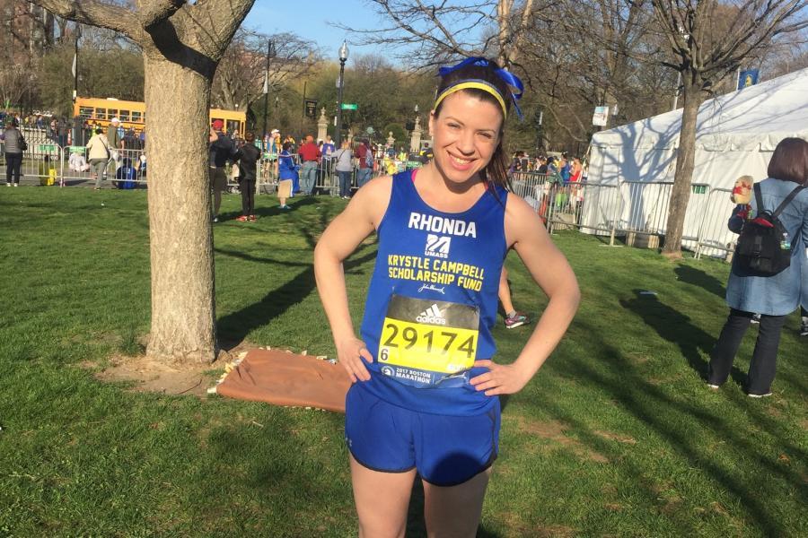 Running Boston Marathon in Honor of Medford's Krystle Campbell