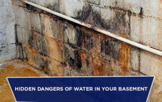 Hidden Dangers of Water in Your Basement