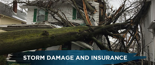 Storm Damage and Insurance