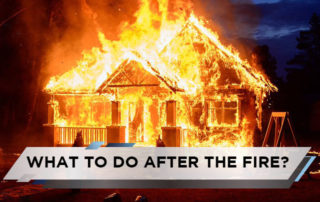 What To Do After the Fire?