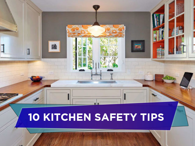 10 Kitchen Safety Tips