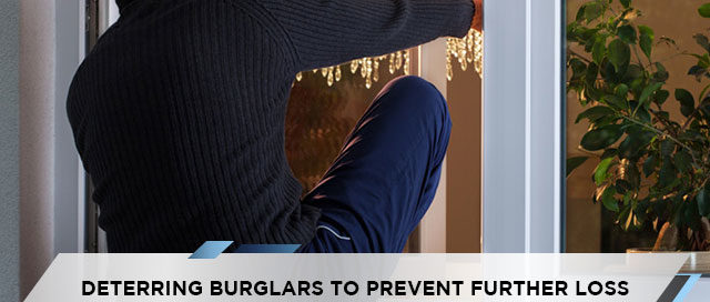Deterring Burglars to Prevent Further Loss