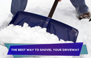 The Best Way to Shovel Your Driveway