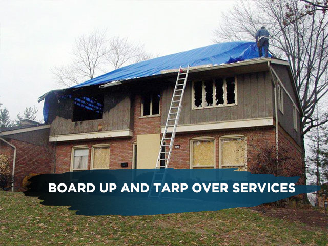 Board Up and Tarp Over Services