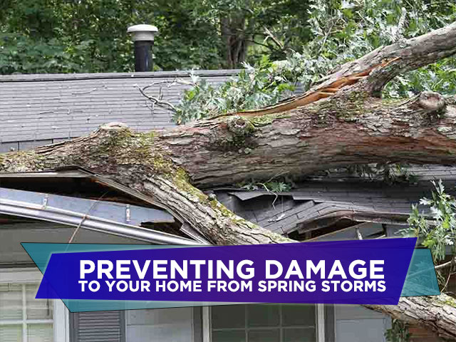 Preventing Damage to Your Home from Spring Storms