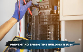 Preventing Springtime Building Issues