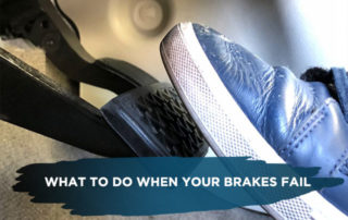 What to Do When Your Brakes Fail